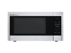 Sharp R-331ZS 1.1 Cu Ft. 1000W Touch Microwave with 11.25 in. Turntable - Stainless Steel