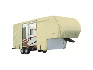 Eevelle GLRVFW4244T 42-44 ft. Goldline Cover 5th Wheel Motor Home - Tan