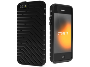 Cygnett Vector Black 3D Tough Case for iPhone 5 CYO854CPVEC