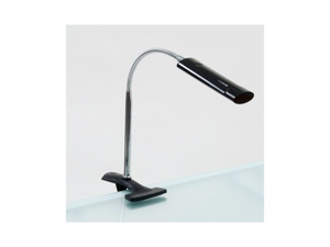Art Clamp Lamp In Black and Silver
