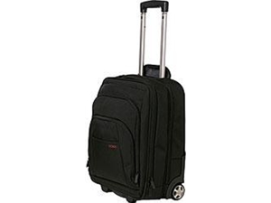 "Codi Mobile max Carrying Case (Roller) for 17.3"" Travel Essential - Black - Nylon - 18.5"" Height x 13.8"" Width x 9"" Depth"