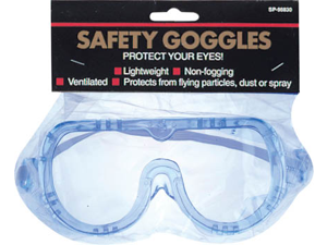 Gam Paint Brushes Safety Goggles Clip Strip  SP98830 CLP - Pack of 12