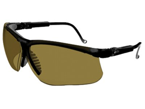 Uvex 763-S3201 Genesis Eyewear, Black Frame