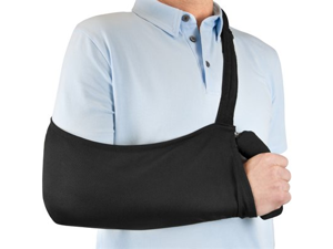 IMAK A30140 Arm Sling with Materials Polyester Cotton Spandex - Black