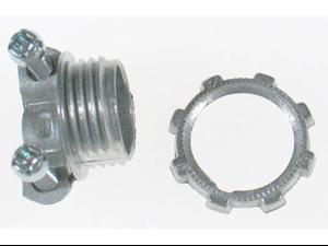 Halex - adalet .38 in. Non Metallic Clamp Connector  05103B