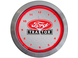 Neonetics 8FTRCT FORD TRACTOR NEON CLOCK
