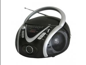 Naxa NPB-246 Portable MP3-CD Player with AM-FM Stereo Radio and USB Input
