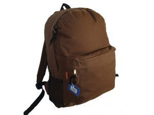 Bulk Buys Classic Backpack 18 in. x13 in. x6 in. Brown. - Case of 30