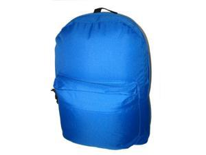 Bulk Buys Classic Backpack 18 in. x13 in. x6 in. , Royal. - Case of 30