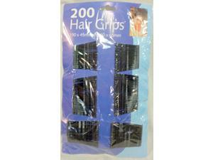 Bulk Buys Wholesale 200pcs Black Bobby Pins - Case of 60