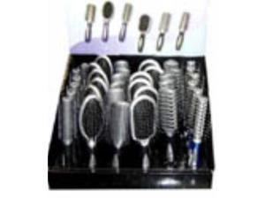 Bulk Buys Hair Brush In Display - Case of 72