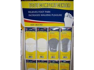 Bulk Buys Insoles - Assorted - Case of 144