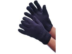 Bulk Buys Mens Lined Brown Jersey Gloves - Case of 120