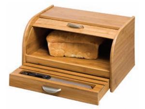 Honey-Can-Do International KCH-01081 Bamboo Bread Box