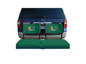 Rivalry RV269-6050 University of Miami Tailgate Hitch Seat Cover