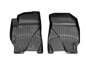 WeatherTech 443541 2010 - 2012 Ford Escape Black 1st Row FloorLiner