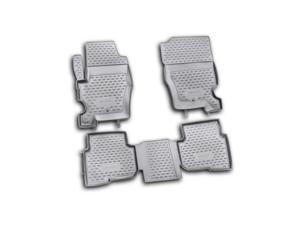 Novline EXP-NLC-28-05-210 2012 Land Rover - Range Rover LR4 - Discovery 4 All Weather Floor Mats