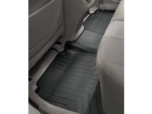 WeatherTech 444392 2nd Row Rear Auto Floor Mat - Black