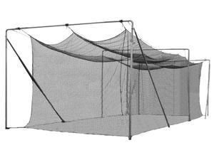 Cimarron Sports CM-552242TP 55 x 12 x 12 42 Twisted Poly Batting Cage Net