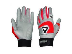 Akadema BGG406-XS-Red Professional Batting Gloves