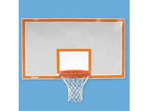 Jaypro Sports SR-PERF Rect Perforated Steel Backboards with Bord and Targ