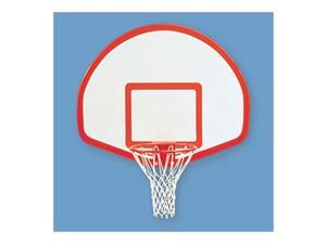 Jaypro Sports ALB-24BT Fan Aluminum Backboard with Border and Target