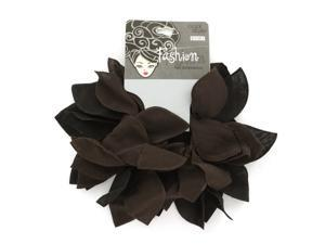 2-pack black and brown hair bands. - Case of 48