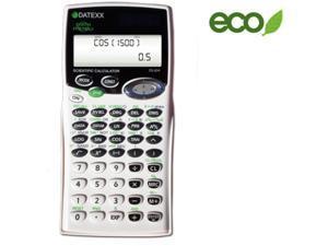 Teledex DS-834 Solar Powered 455-Function, 2 Line, Fraction, Equation Scientific Calculator