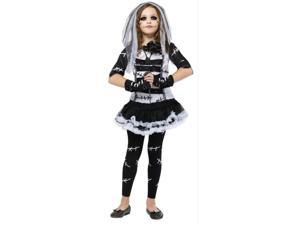 Costumes For All Occasions FW121322MD Monster Bride Child 8-10