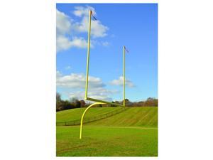 Jaypro Sports FBGP-530 Max-1 High School 6 ft. Offset 30 ft. Semi permanent