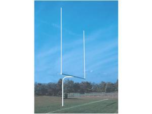 Jaypro Sports FBGP-720 6 ft. High School Goal Post White Semi permanent