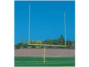 Jaypro Sports FBGP-720YW 6 ft. High School Goal Post Yellow Semi permanent