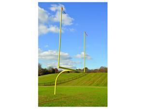 Jaypro Sports FBGP-820AX Max-1 High School 8 ft. Offset 20 ft. Expandable Goal Semi permanent