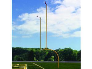 Jaypro Sports FBGP-830 Max-1 High School 8 ft. Offset 30 ft. Semi permanent