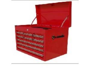 Homak RD02027901 27 Inch Professional Red 9 Drawer Extended Top Chest