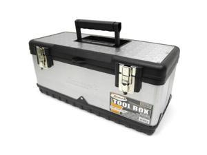 Homak SS00119800 20 Inch Stainless Steel Toolbox