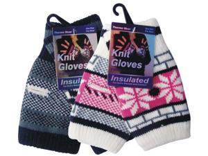 Bulk Buys Knitted Gloves - Fingerless - Case of 144