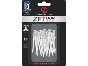ProActive Sport TE218N5 2 3/4'' Zero Friction Tour 3-Prong Golf Tees in White - Pack of 10