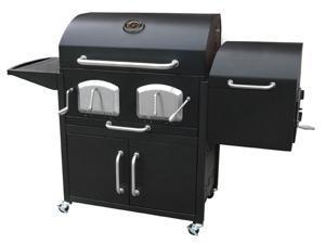 Landmann USA 591320 BRAVO PREMIUM Charcoal Grill with offset smoker