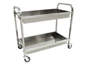 Barbour 4873 Classic Stainless Steel Serving Cart