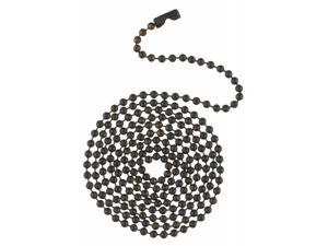 Westinghouse Lighting 7705400 3 ft. Oil Rubbed Bronze Beaded Chain With Connector