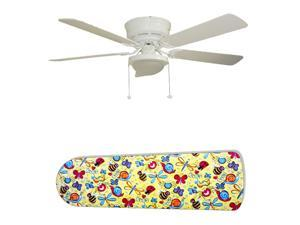 New Image Concepts 2580 52 in. Ceiling Fan with Lamp - Bug Bonanza Bugs