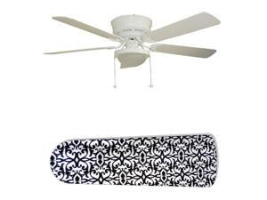 New Image Concepts 2825 52 in. Ceiling Fan with Lamp - Paris Elegance