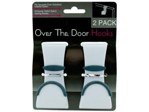 2 pack over the door hooks - Case of 96