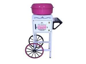 Nostalgia Electrics Ccm510 Vintage Collection Hard & Sugar Free Candy Cotton Cart