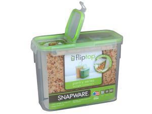 Snapware 1098432 11 Cup Slim Flip Top Rectangle Storage Container