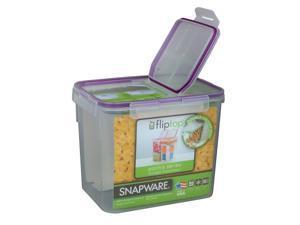Snapware 1098425 17 Cup Medium Flip Top Rectangle Storage Container