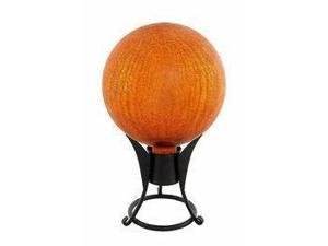 Achla G6-Y-C Gazing Globe 6 in. Lemon Drop Crackle
