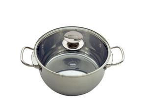 Berndes 063750 9 Qt. Stock Pot With Cover-Lid