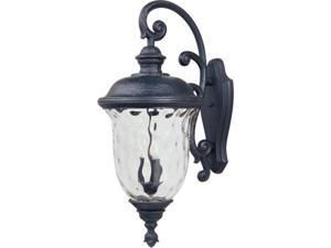 Maxim Lighting 3498WGOB Carriage House DC 13'' HCO 3-Light Outdoor Wall Lantern - Oriental Bronze
